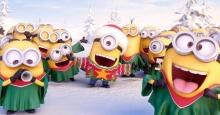 เหล่า Minions ออกมาร้องเพลงอวยพรคริสต์มาส