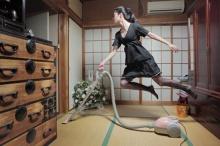 ภาพถ่ายสุดเจ๋ง ของ นัทสึมิ สาวน้อยผู้ลอยกลางอากาศ!