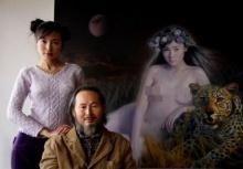 จีนวิจารณ์ยับ จิตรกรชื่อดังวาดรูปเปลือยลูกสาว อ้างศิลปะ ไม่เน้นศีลธรรม