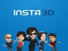 เปลี่ยนตัวคุณให้กลายเป็นอนิเมชั่น 3 มิติ ด้วย Insta3D