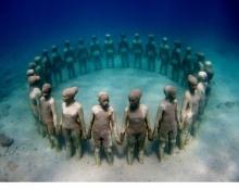 ชมศิลปะ ที่จมอยู่ใต้ทะเล! ที่คุณต้องร้อง WOW!!