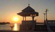เย็นย่ำวันสบาย…ชมพระอาทิตย์ตก ที่สะพานสารสิน