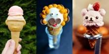 10 ไอเดียไอศกรีมโคนน่ารักๆ ที่เห็นแล้วเป็นต้องยิ้ม