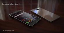 หลุดข้อมูล Samsung Galaxy Note 5 และแฟบเล็ตรุ่นสืบทอดจาก Galaxy Note Edge
