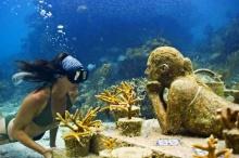 พิพิธภัณฑ์ใต้น้ำแคนคูน พิพิธภัณฑ์ใต้น้ำ ใหญ่ที่สุดในโลก ที่เม็กซิโก