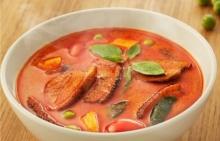 วิธีทำ แกงเผ็ดเป็ดย่าง อาหารไทยเผ็ดร้อน