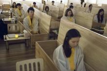 เกาหลีใต้ปิ๊งไอเดีย ผุดศูนย์บำบัดนอนในโลงศพ เพื่อเผชิญหน้ากับความตาย