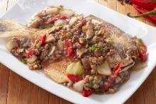 ปลาจาระเม็ดผัดพริกไทยดำ น่ากินเว่อร์