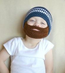 """""""หมวกไหมพรม"""" สุดกิ๊บเก๋ ที่จะทำให้ลูกน้อยของคุณมีหนวดเพิ่มความอบอุ่น"""