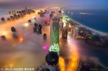 สวยอะ!! มุมสวยๆ ดูไบในไอหมอก งดงามราวเมืองสวรรค์