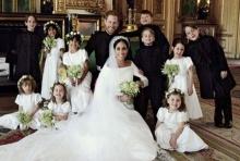 เผยพระรูปของเจ้าชายแฮร์รี่และพระชายา หลังเสร็จพิธีเสกสมรส