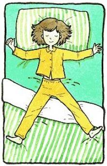 ทายนิสัย...จากท่าที่คุณนอน ^__^