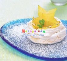 Star Fruit Meringue Net