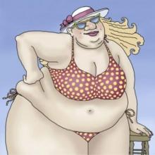 ทำอย่างไรดี . . .ใครๆ ก็วิจารณ์ว่าดิฉันอ้วน