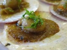 หอยเชลล์อบเนย