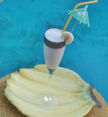 น้ำกล้วยหอมปั่น