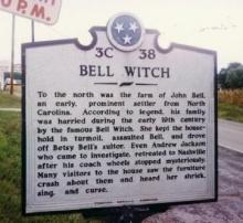 ♣ ตำนาน  The  Bell  Witch ♣