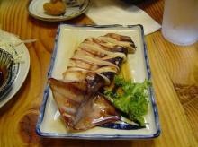 ปลาหมึกย่างซีอิ๊ว