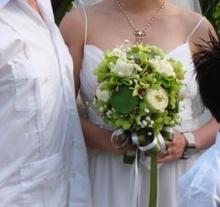 ช่อดอกไม้งานแต่งกับ สาวโสด