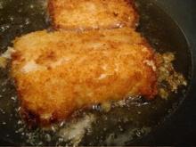 ปลาชุบเกล็ดขนมปังทอด