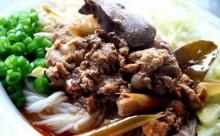 ขนมจีนน้ำยาโคราช (ไก่)