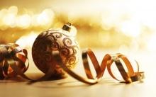 วอลเปเปอร์ Christmas Baubles and Balls