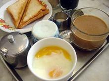 ไข่ลวก มื้อเช้า แก้ปัญหาท้องผูก