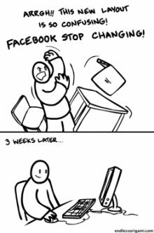 เกิดอะไรขึ้นเมื่อ Facebook เปลี่ยนหน้าตาใหม่