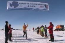 แข่งวิ่งมาราธอนที่ขั้วโลกใต้