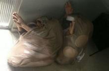 นักโทษยัดตัวเองในถุงพลาสติกหวังแหกคุก