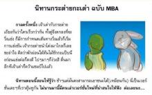 กระต่าย กับ เต่า ฉบับ MBA