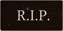 ความหมายของ RIP.