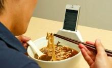 ชามราเมน บะหมี่ ดีไซน์เพื่อคนเสพติด ไอโฟน