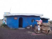 บ้านมนุษย์หินฟลินสโตนย้อนยุค ในรัฐแอริโซนา