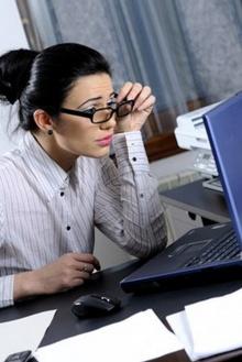 วิธีดูแลสายตา เมื่อต้องทำงานหน้าคอมฯ