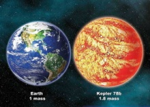 เคปเลอร์ 78บี ดาวคู่แฝดโลก