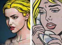 2D or not 2D แต่งหน้าให้เป็นภาพวาด