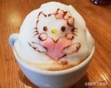 น่ารักจนไม่กล้ากิน ศิลปะบนฟองนมแก้วกาแฟลาเต้