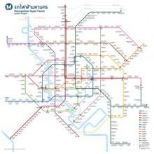 แผนที่ฉบับเต็ม! เส้นทางรถไฟฟ้าทั่วกทม. ในอีก 15 ปี