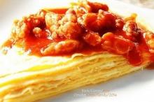 เครปไข่เจียวแฮมชีส เมนูง่ายๆ แสนอร่อย
