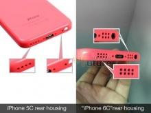 หลุดอีก!! ฝาหลัง iPhone 6c แฟลช Dual LED , ช่องลำโพงคู่
