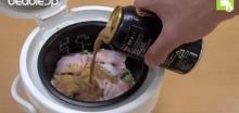 อร่อยบอกต่อ!! ... ข้าวหุงเบียร์ดำ น้ำลายไหลสุดๆ ...