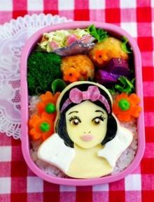 น่ารักมั้ย ดิสนีย์เบนโตะ ข้าวกล่อง สไตล์ญี่ปุ่น