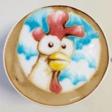 ลาเต้อาร์ต (Latte Art) ศิลปะฟองนมบนแก้วกาแฟ