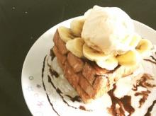 ฺBanana honey toast  ง่ายไโดยใช้กระทะ
