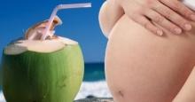 เคยได้ยินไหม!? ดื่มน้ำมะพร้าวขณะตั้งครรภ์อ่อนๆ เสี่ยงแท้ง แท้จริงยังไงลองอ่านดูจ้า