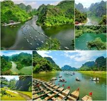 ภูมิทัศน์จ่างอาน (Trang An) สวรรค์บนดินที่ต้องมาเยือน!