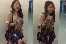 ไขข้อข้องใจ ภาพดราม่า สาวจูงตะกวดเดินเล่นในห้าง ยังไงกัน ??