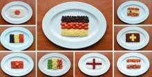 ศิลปะจากผักและผลไม้ มันเจ๋งจริงๆ