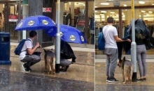 ประทับใจ!! เจ้าของช้อปเพลินทิ้งน้องหมาตากฝน..จนคู่รักคู่หนึ่งทำแบบนี้!!
